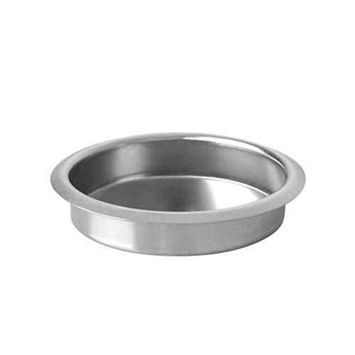 Bestonzon Blindfilter aus Metall, 58 mm, für Espresso-Maschinen, Einbaukorb hinten, zur Reinigung der Brühgruppe der Espressomaschine
