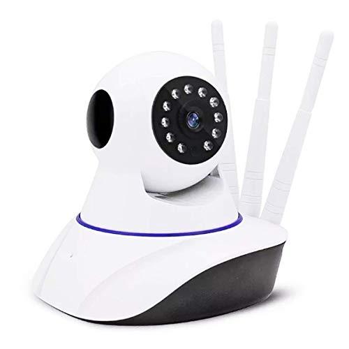 Câmera de Segurança Ip 3 Antenas Wireless Sem Fio WI-FI HD
