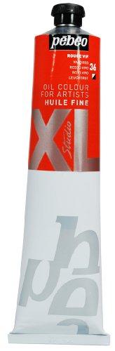 Pébéo 200040 XL - Pintura al óleo (200 ml), color rojo vivo
