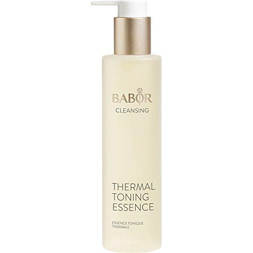 BABOR CLEANSING Thermal Toning Essence, Gesichtswasser für empfindliche Haut, feuchtigkeitsspendende Gesichtspflege mit Aloe Vera, alkoholfrei, 1 x 200 ml