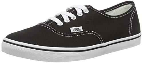 Vans Adult Authentic Lo Pro, Black/True White , Men's 4