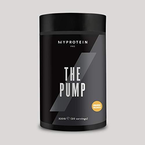 My Protein The Pump Pre Workout Orange Mango 20 Servings
