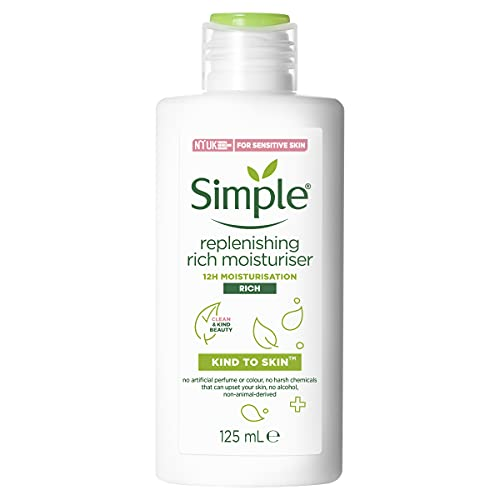 Simple Replenishing Rich Moisturiser, 125ml by Simple