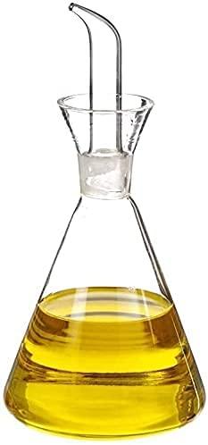 TIENDA EURASIA® Aceitera Antigoteo Cristal - Aceitera para cocina clásica (250ML)