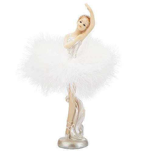 Estatua de Bailarina de Ballet de 5.9 Pulgadas, Estatuilla de Bailarina de Baile, Estatua de Bailarina Hermosa, niña, Decoración del hogar, Adornos de Escritorio(3#)