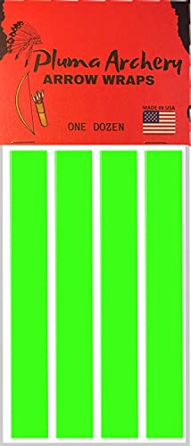Arrow Wraps | Cut for Micro Diameter Archery Shafts | 4MM / 0.166 Inch...