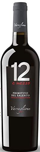 6er Vorteilspaket - 12 e mezzo Primitivo del Salento IGP 2019 | Rotwein aus Apulien | trocken | 6 x 0,75l