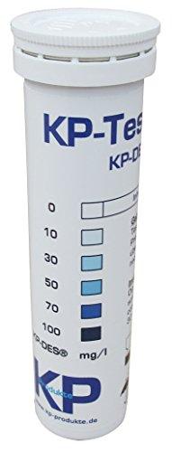 KP-Teststreifen Messstreifen zur Bestimmung des aktiven Sauerstoffs H2O2 (0-100 ppm)
