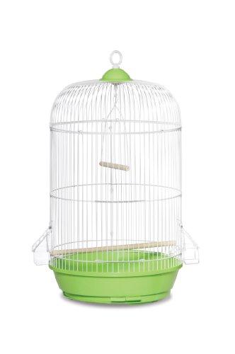 Prevue Hendryx SP31999G Classic Round Bird Cage, Green,1/2'