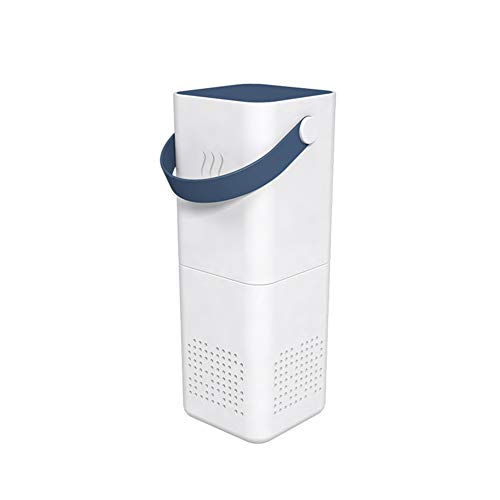 Luchtreiniger Filter Ionisator Allergeen Bloemstof Schadelijk Huidschilfers Roet Pm2.5 Eliminator Luchtverfrisser,Dark blue
