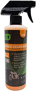 Orange Degreaser Citrus Cleaner - 16 oz. | Safe, Green and Organic Multi-Use Cleaner for Interior & Exterior Use | Removes Grease & Grime | Use on Plastic, Cloth, Vinyl, Metal, Leather & Carpet