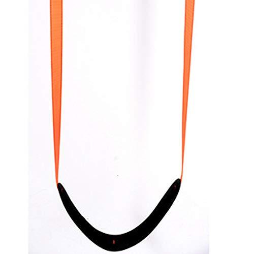 FOGUO Kinderschaukelstuhl,Garten-Hängematten-Fitness-Sets Innenhof Im Innenbereich Home Tragbarer Kindersitz mit Einem Sitz Bis zu 150 Kg,2M,Orange