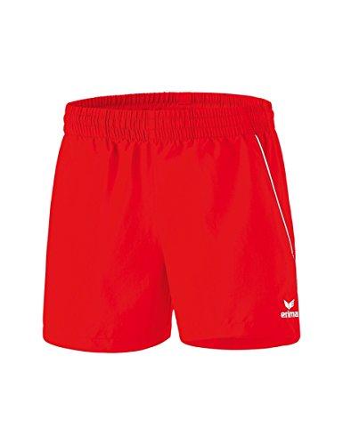 Erima Damen Tischtennis Shorts, rot/Weiß, 38