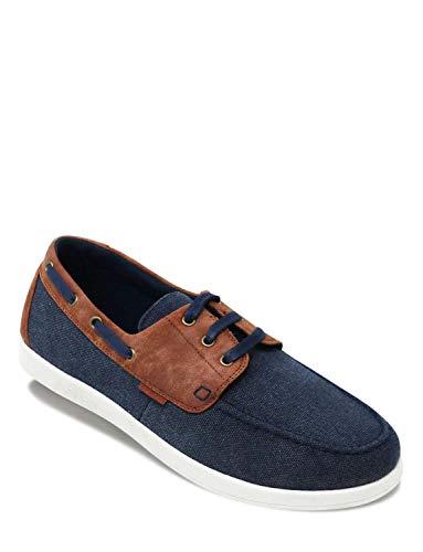 Dr Keller - Zapatos Estilo Naútico con Ancho Especial Wide Fit Y Cierre Fácil para Hombre