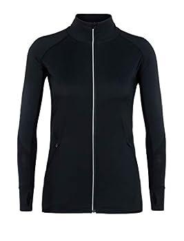 Icebreaker Merino Women s Tech Trainer Hybrid Jacket Black Small