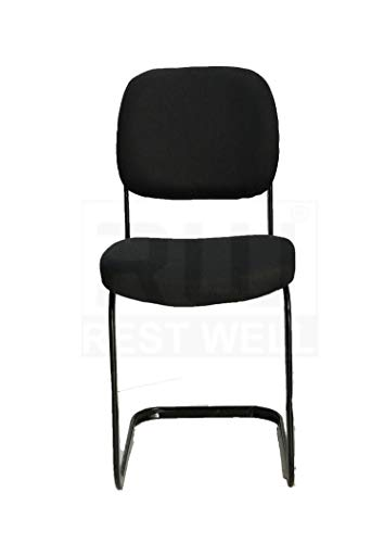 RW REST WELL S-Model Black Study/Visitor Chair