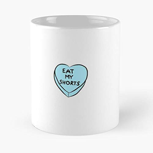 Dont Forget 80S Breakfast Hearts Eat My Shorts Emilio Estevez John The Breakfast Club Top Trending 11 Ounce White Nobble Standard White Ceramic Gift Mug