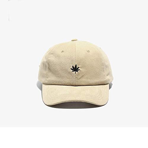 Kappe Stickerei Baseballmütze Frauen Männer Snapback Caps Lässig Hip Hop Sport Outdoor Verstellbare Kappe Unisex Sonnenschirm Peak Hat M55-59Cm Khaki