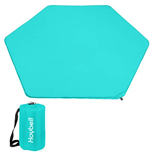 Hoybell Playard Mattress, Compatible with Regalo My Play Play Yard, Self Inflatable Comfortable with Carry Case - Blue