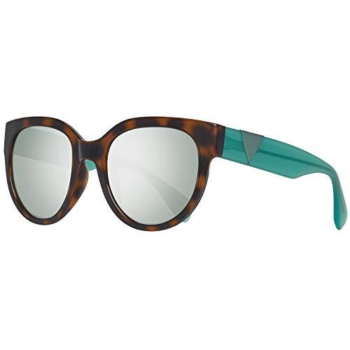 Guess Sonnenbrille GU7439 5456C Gafas de sol, Marrón (Braun), 54 para Mujer