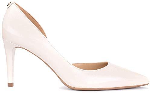 Michael Kors Damen Pumps Schuhe 40R0DOMP5L Dorothy Cream Leder Beige