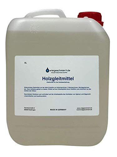 5 Liter Holzgleitmittel   Gleitmittel für Holz silikonfrei 5L