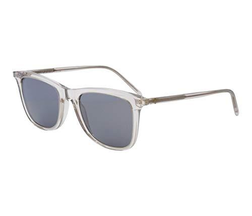 Yves Saint Laurent Sonnenbrillen (SL-304 010) beige kristall - grau - silber verspiegelt