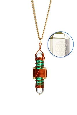 Crystal Necklace Crystal Pendant Healing Tool Etheric Weaver® Crystal Pendant
