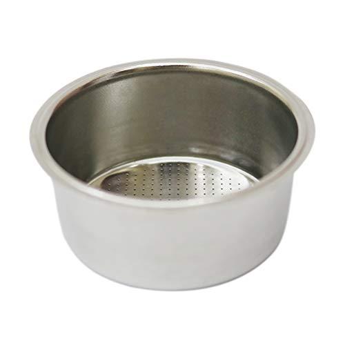 Einschichtiger Kaffeefilter Porta Filter Kaffeetropfer für Büro Wohnung Café Kaffeemaschine 58 mm Kaffeefilter