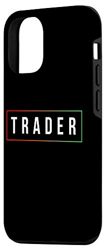 31utqaf+HJL - iPhone 12/12 Pro Minimal Simple Day Trader Trading Stock Market Gift Case
