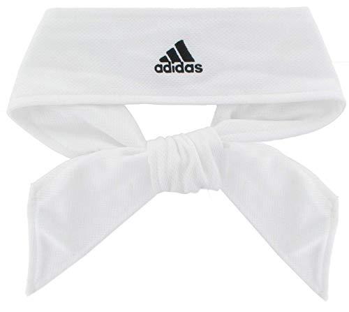 adidas Unisex Tennis Tie II Haarband, Weiß/Schwarz, Einheitsgröße