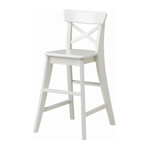 IKEA INGOLF - silla Junior, blanco