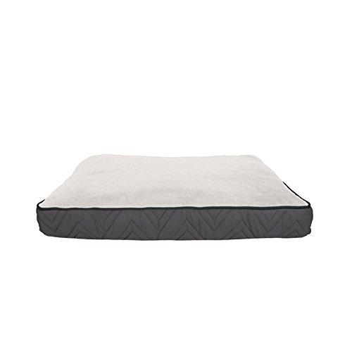 Dogit Weichbodenmatte, grau und weiß, 51x 73cm
