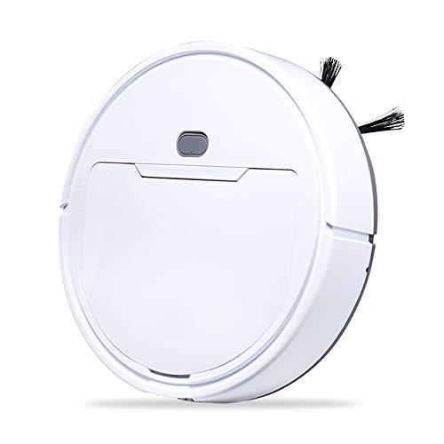 DDIAN Saugroboter Mit Wischfunktion Taubsauger Roboter Mit Reinigungsrouteanzeige Und Kartenspeicherung Für Tierhaare,Weiß