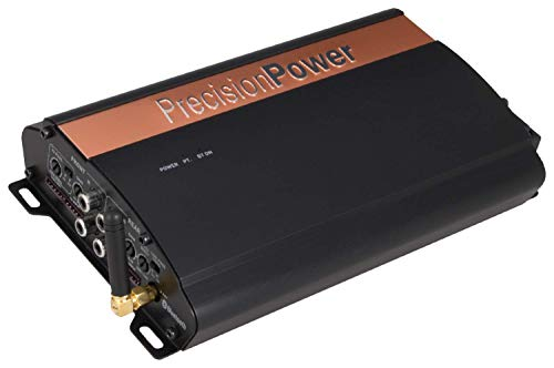 PRECISION POWER - iON Series i520.4B Class D 4-Channel 520W Full-Range Digital Stereo Amplifier with Bluetooth, and MOFSET Power Supply