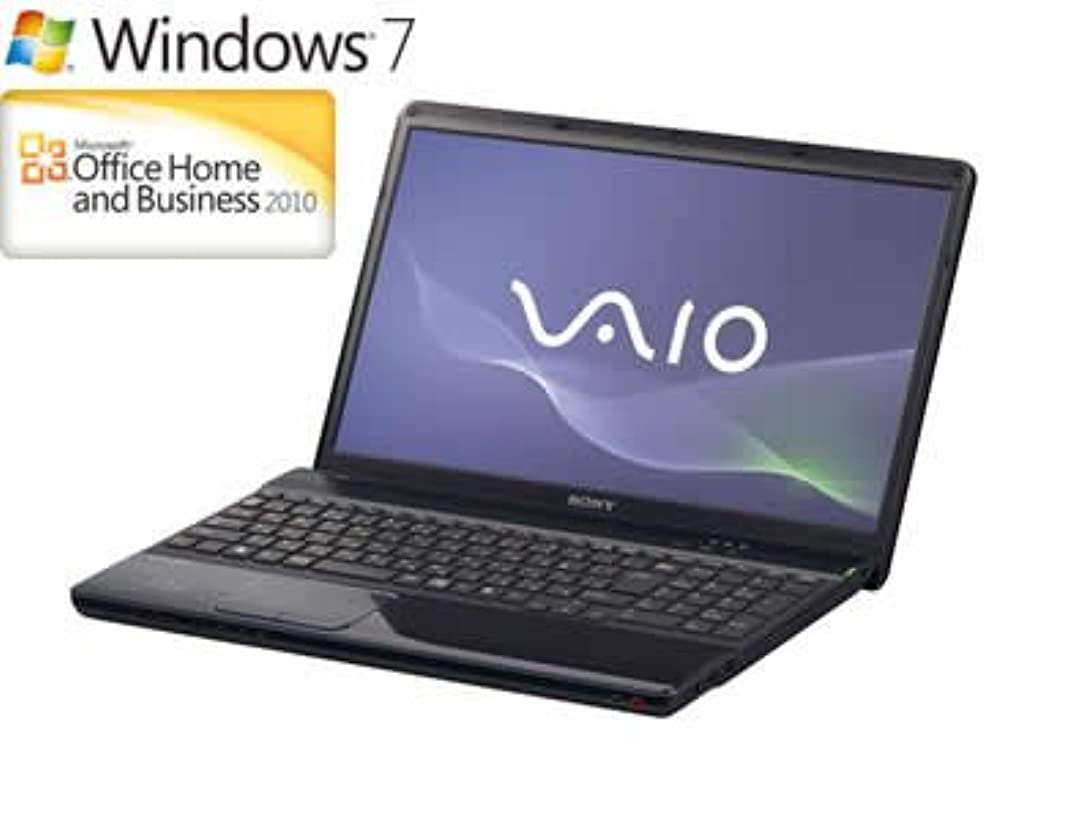 流産絶妙カヌーソニー(VAIO) VAIO Eシリーズ (Windows7 Home Premium 64bit/Office2010) ブラック VPCEB39FJ/B