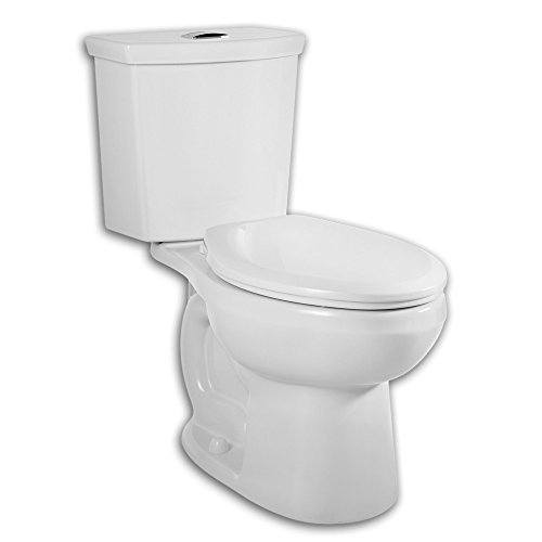 American Standard 2886.216.020 H2 Option Siphonic Dual Flush Right Height Elongated Two-Piece Toilet, White