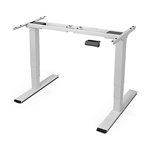 FLEXISPOT E5 Escritorio Eléctrico de Pie con Altura Ajustable Eléctrico, Standing Desk, Escritorio...