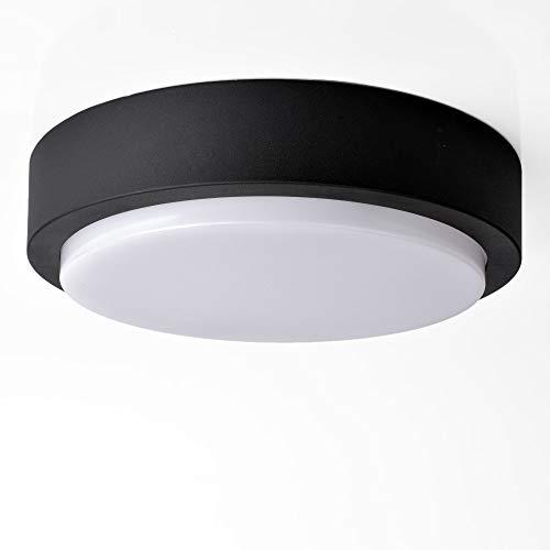 HOCHWERTIGE Massive Außenleuchte Wandlampe Wandleuchte Außenwandleuchte IP54 schwarz Alu-Druckguss Decken-Lampen Beleuchtung Flur-Leuchte 1420