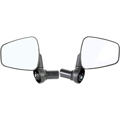 Zefal Dooback Fahrrad Spiegel MTB Mountain Bike Hybrid – Paar (links und rechts Spiegel)