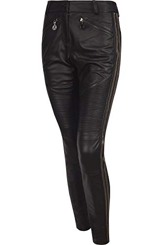 Sportalm Damen Hose Größe 38 EU Schwarz (schwarz)