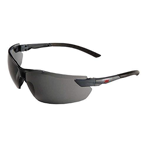 3M 2821 Schutzbrille, AS/AF/UV/PC, Grau Getönt