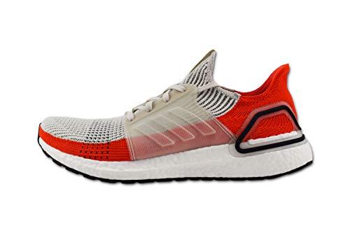 ADIDAS Ultra Boost 19 Calzado para Correr en Carretera para Hombre Blanco Rojo 42 2/3 EU