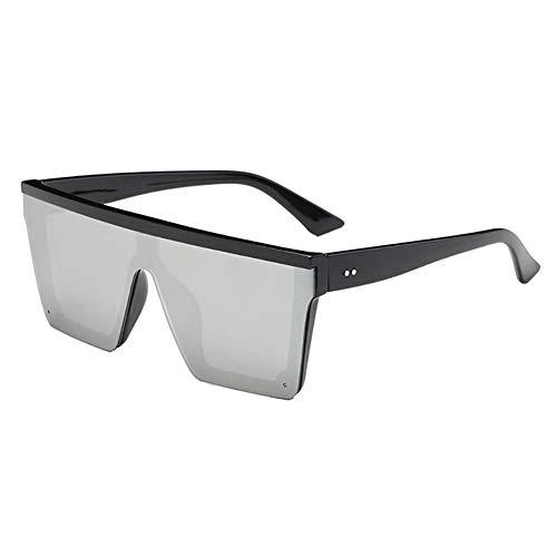 Nikgic. Gafas de sol combinadas con montura grande de moda Grandes gafas de sol cuadradas para hombres y mujeres Gafas de sol salvajes de moda Gafas de sol de conducción (Estilo2)