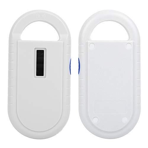 Scanner per Microchip per Animali Domestici, 134,2 KHZ Lettore per Animali RFID Portatile Scanner per Animali Domestici Ricaricabile Scanner per Chip per Animali per ISO 11784/11785, FDX-B e ID64 RFID