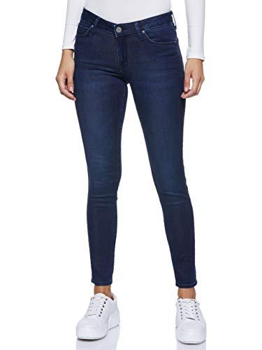 Lee Femme Skinny Skinny Jeans Scarlett, Blau (Polished Indigo), 27W / 31L