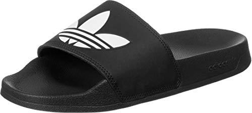adidas Adilette Lite, Scarpe da Ginnastica Uomo, Core Black/Ftwr White/Core Black, 44.5 EU