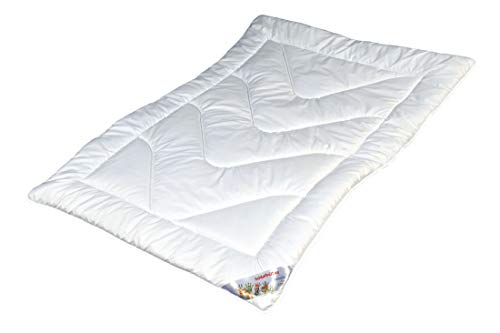 Garanta Kinder-Sommer-Steppbett 100 x 135cm - Bettdecke für Kinder \'Clean for Kids\' - Kochfest