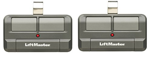 892LT 2-Pack Liftmaster replaces 372LM, 374LM, 972LM, 974LM, 61LM, 315 Mhz, 390 Mhz, Remote Control Transmitter Garage Gate Clicker