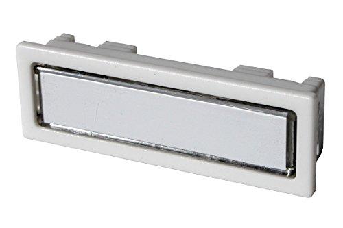 Klingeltaster-Namensschilddrücker mit Reibungskontakt Lira NT 1301 passend für Renz, Ju und DAD